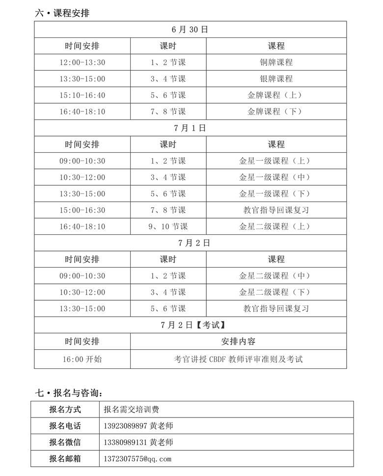 CBDF全国教师、评审培训班(中国·江门)(图3)