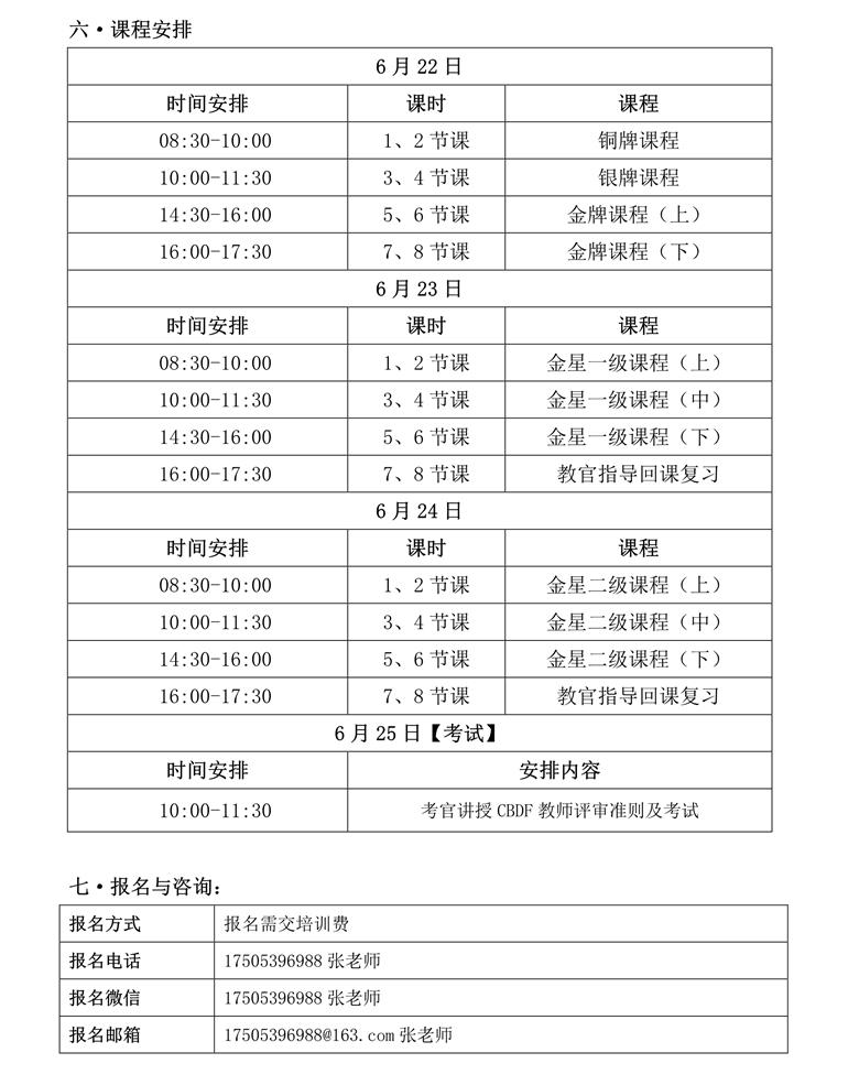 CBDF全国教师、评审培训班(中国·临沂)(图3)