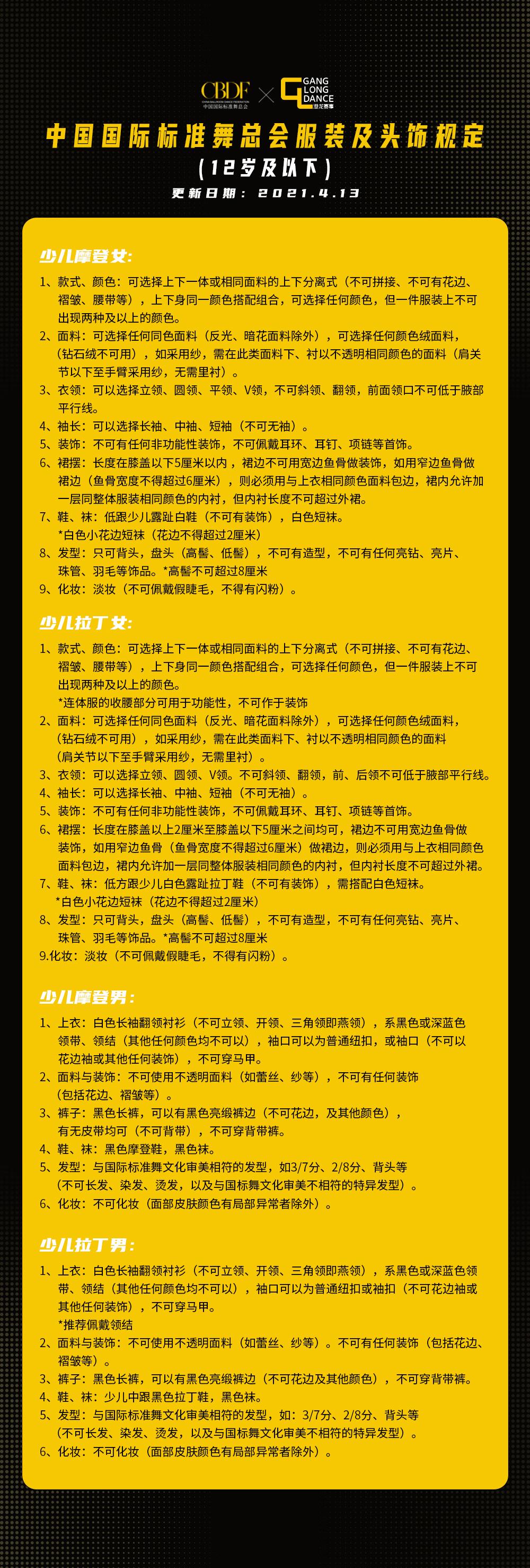 【通知】2021第21届CBDF中国国际标准舞青少年锦标赛(东北—沈阳)(图3)