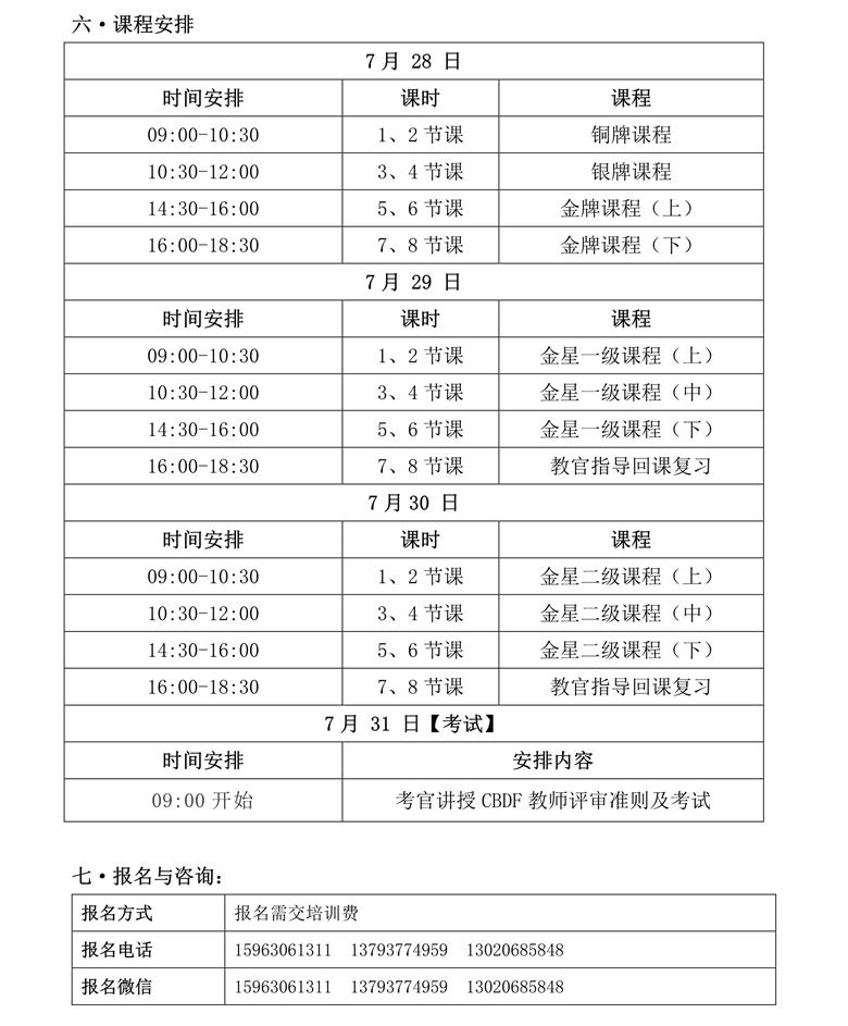 CBDF全国教师、评审培训班(中国·曲阜)(图3)