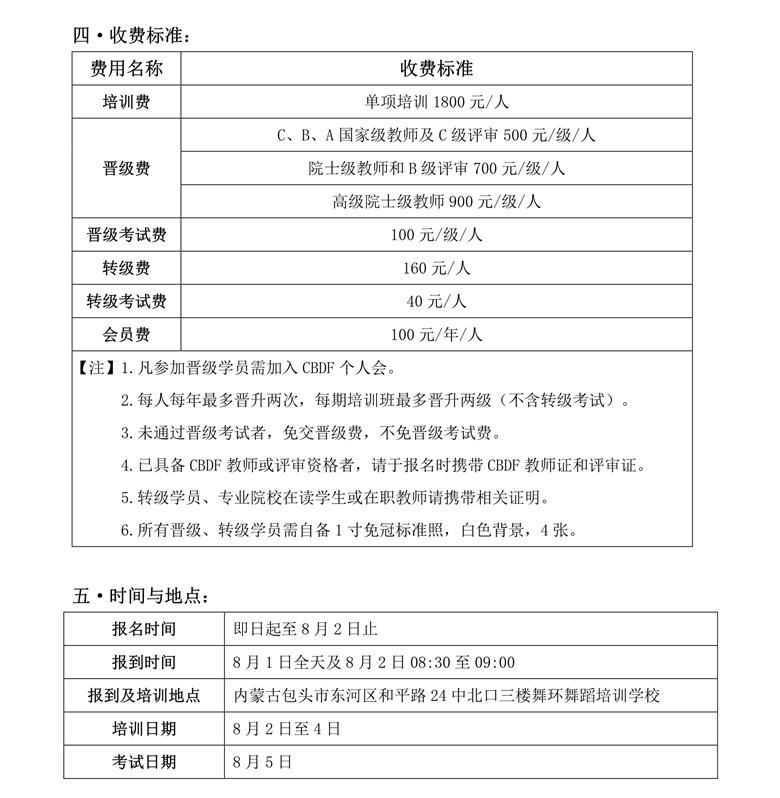 CBDF全国教师、评审培训班(中国·包头)(图2)